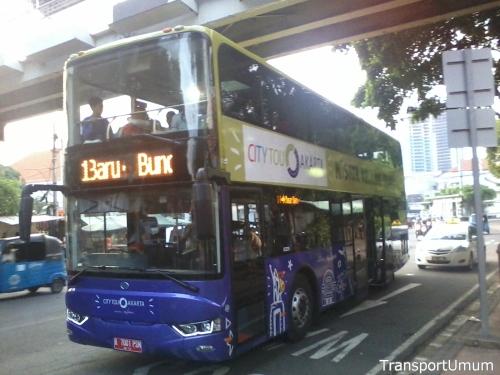 Bus Tingkat Wisata Jakarta City Tour – TransportUmum – Jakarta